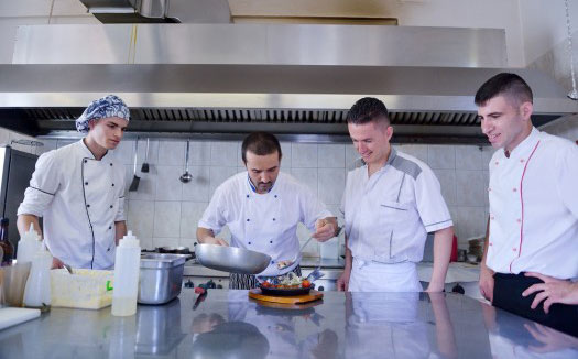 Ever considered a career as a chef?