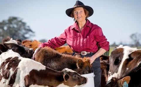 Kempsey Dairy Farmer Marie Farley