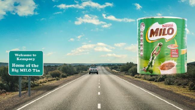 'Big Milo Tin' on its way to Kempsey