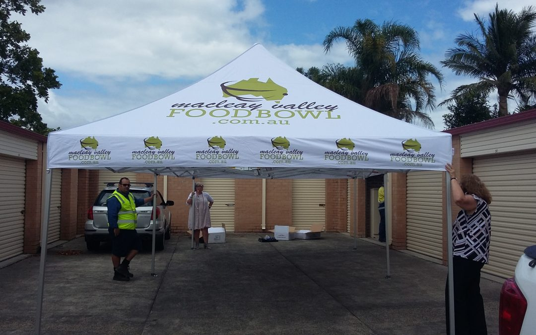 New Macleay Valley Food Bowl Marquee for Markets